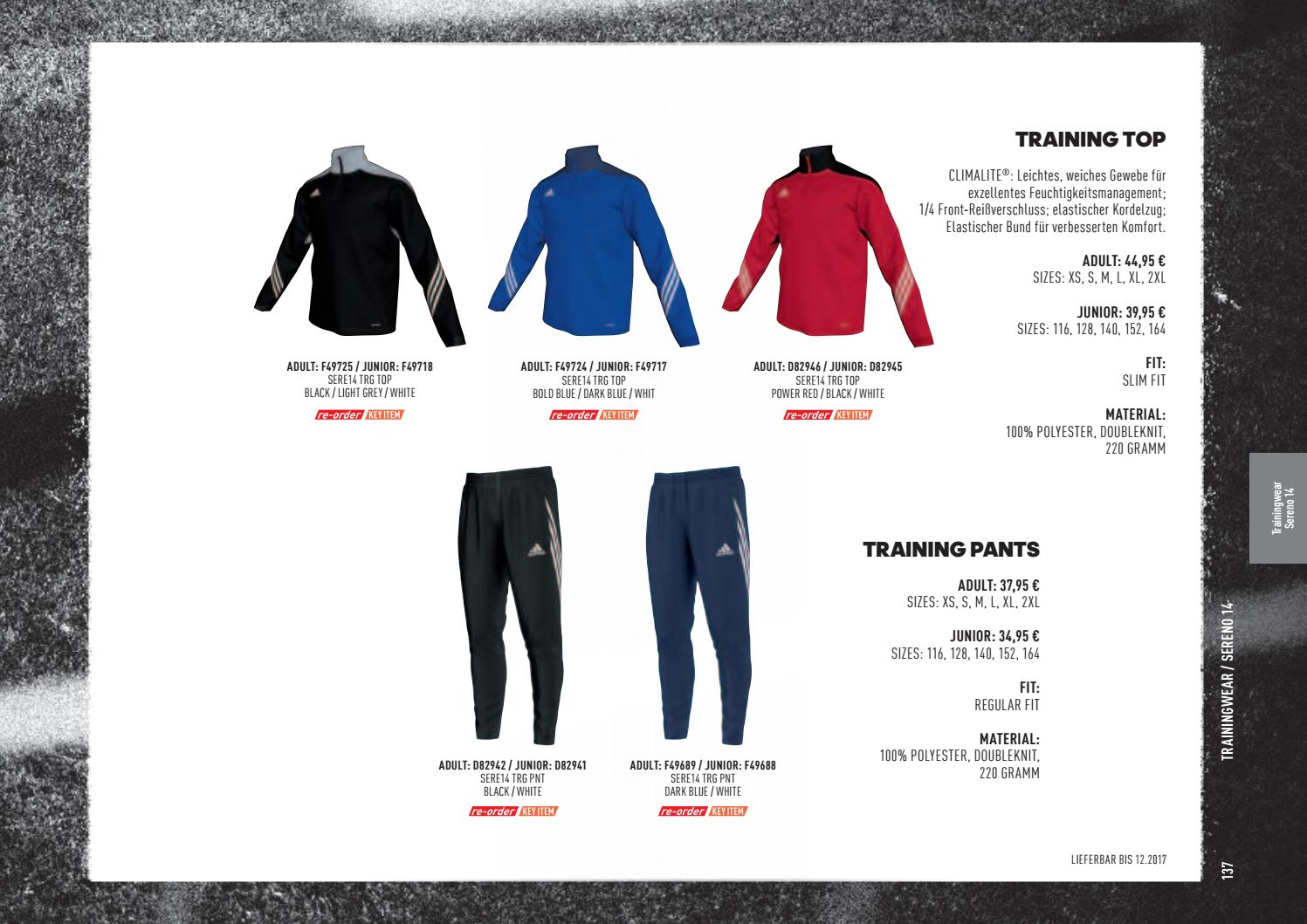 Adidas Teamsport Katalog 20172018 by Hofbauer Teamsport