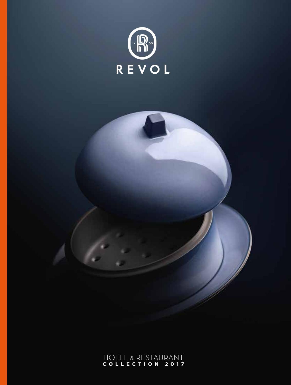 REVOL 644856 Ramequin Cr/ème Brul/ée Porcelaine Rouge Piment 3 cm