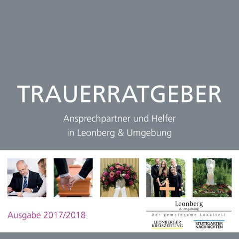 Schreiner Leonberg trauerratgeber by mhs digital issuu