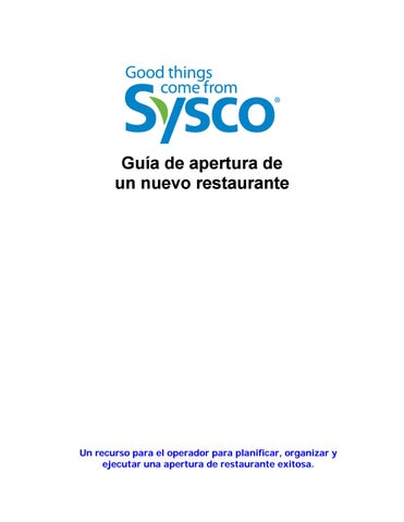 Sysco Arizona - Issuu
