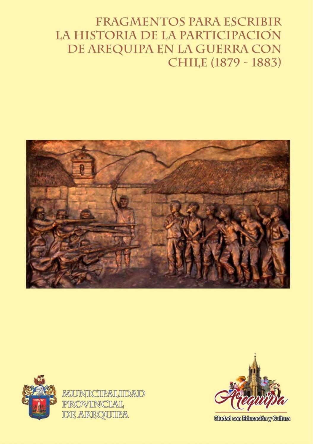 Fragmentos para escribir la historia de la participación de Arequipa ...