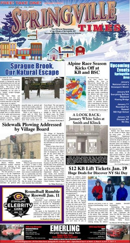 fa48cb9d43ceac 1-6-17 Springville Times by Ellicottville Times - issuu
