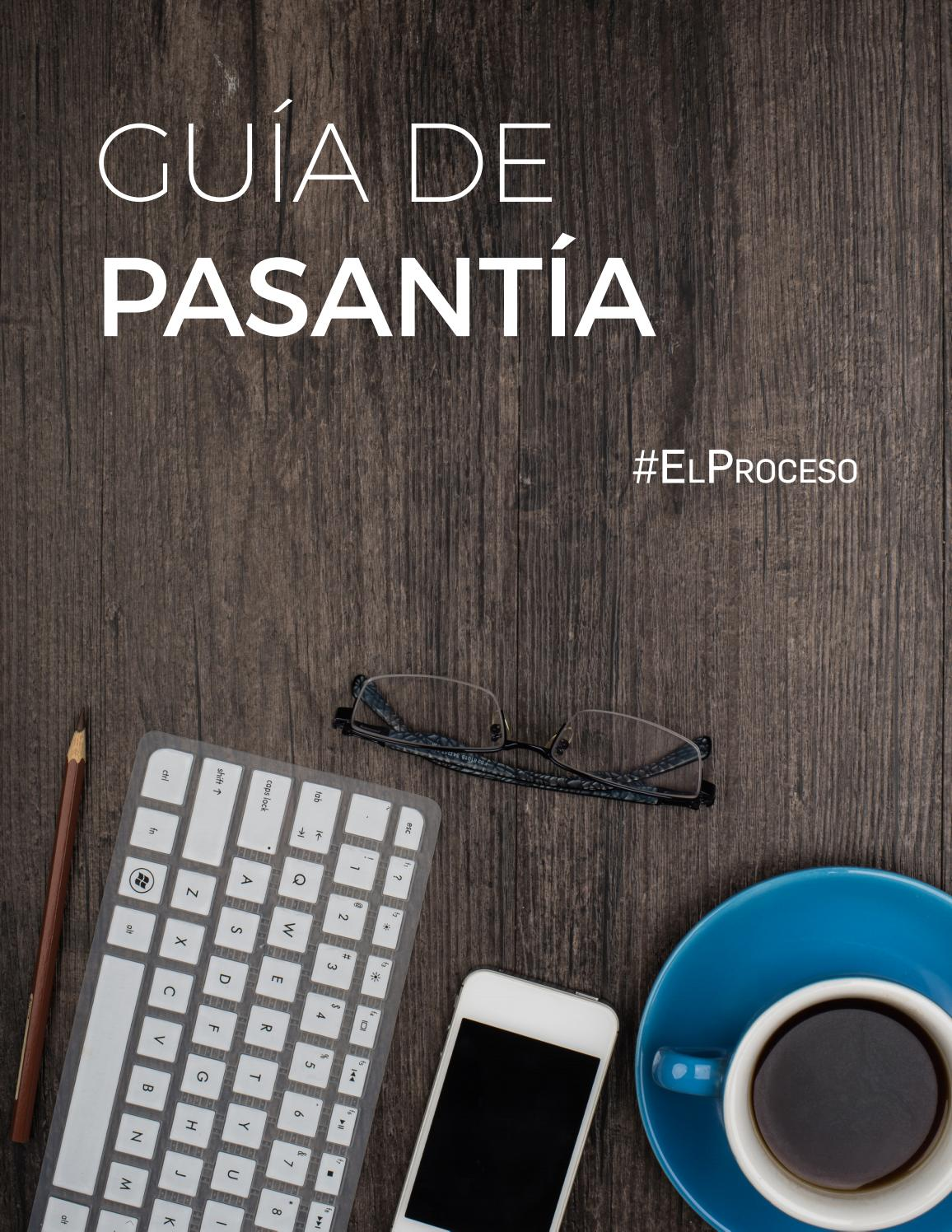 Guía de pasantía final by Expresatepucmm - issuu