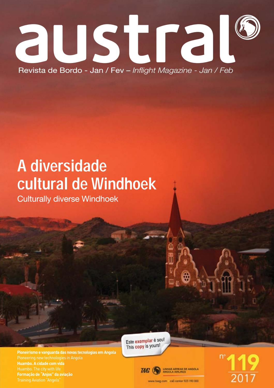 Revista austral 119 2017 by taag linhas areas de angola issuu fandeluxe Images