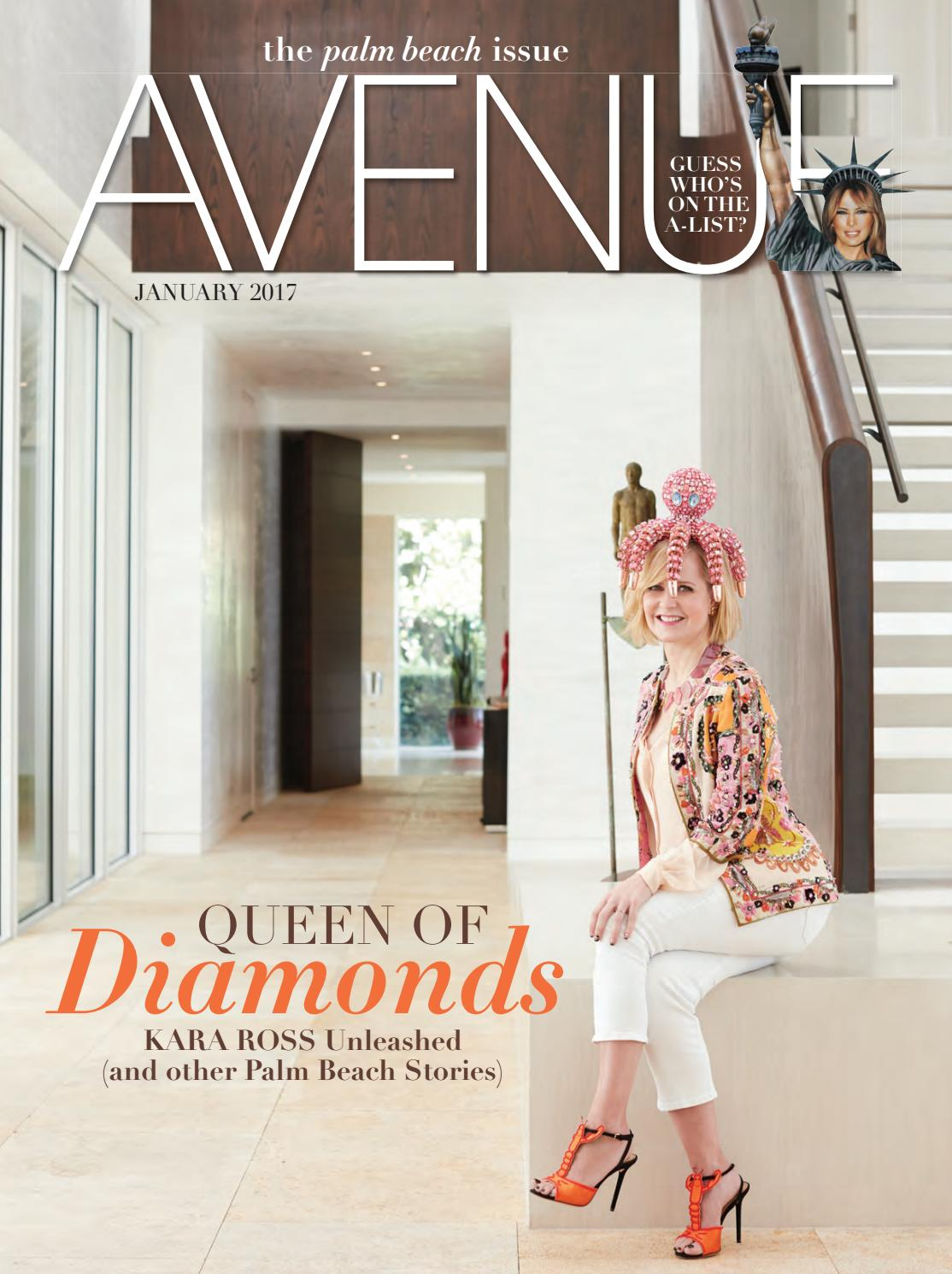 2e1aeeeec7 AVENUE January 2017 by AVENUE Magazine - issuu