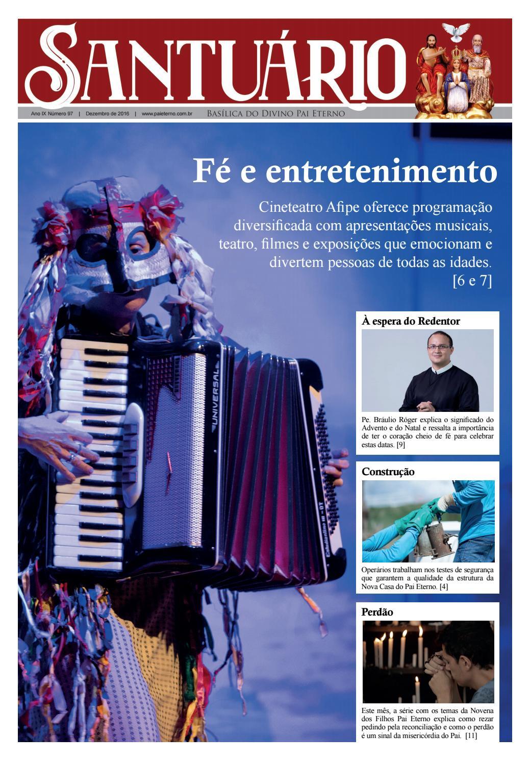 Jornal Santuario Dez 2016 By Santuario Basilica Do Divino Pai