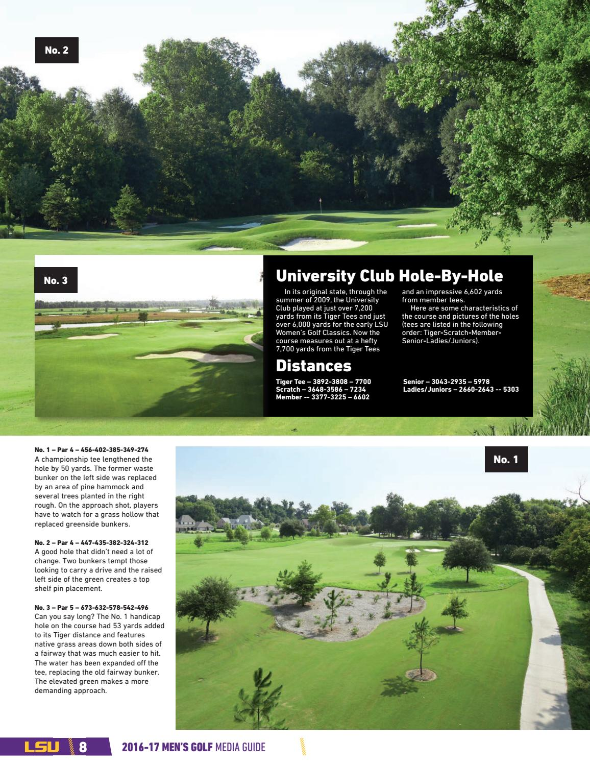 2017 lsu men s golf media guide by lsu athletics issuu rh issuu com Let's Golf for PC Come Out and Golf