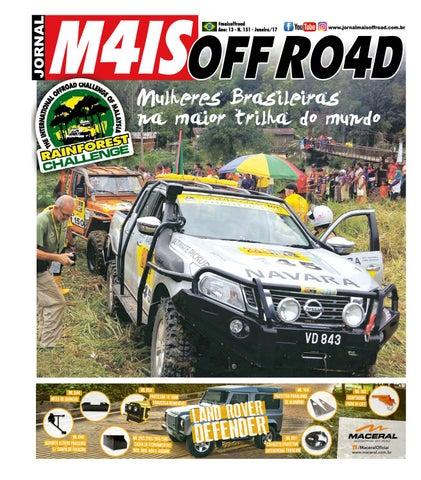 Jornal Mais Off Road - Edição N. 151 - Janeiro 2017 by Jornal Mais ... 36ed040f90a