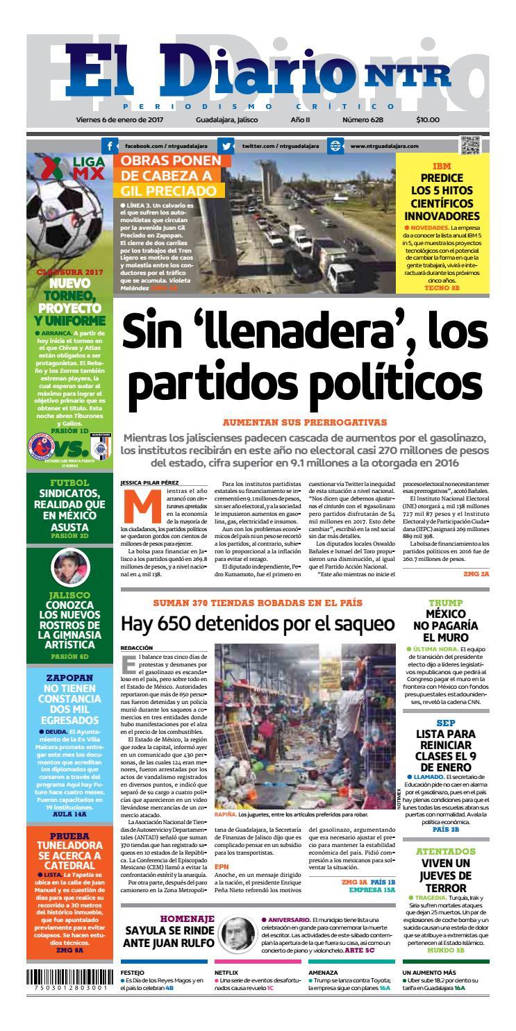 El Diario NTR 628 by NTR Guadalajara - issuu