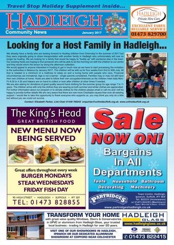 Hadleigh munity News June 2017 by Keith Avis Printers issuu