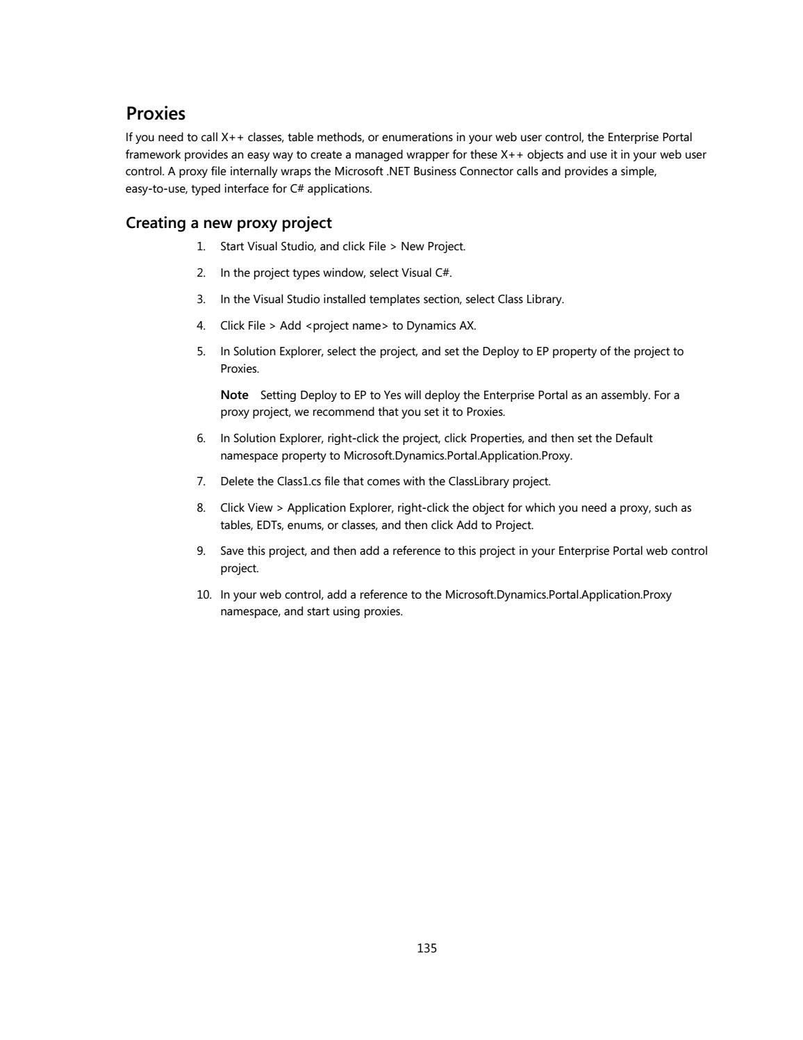 Microsoft Dynamics AX 2012 - Enterprise portal development