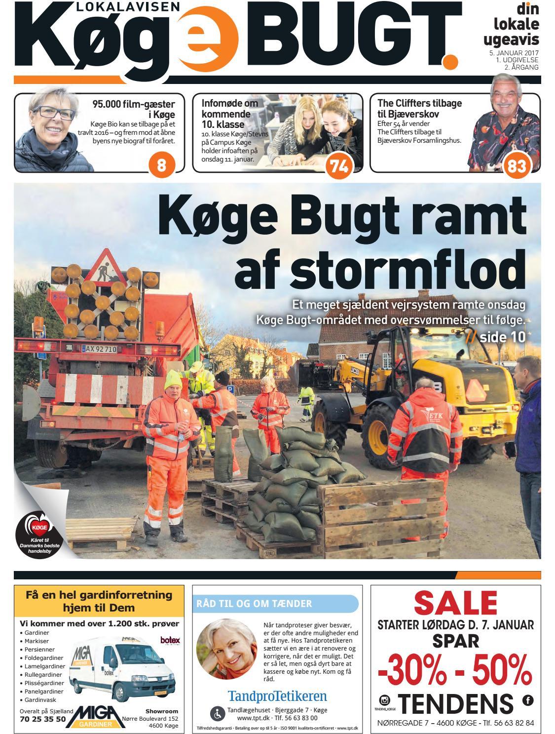6dd5bd74639e Lokalavisen Køge Bugt uge 1 2017 by Lokalavisen Køge Bugt - issuu