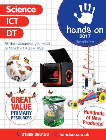 Hands on science 2017 by Morleys (Bicester) Ltd