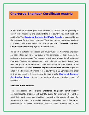 chartered engineer Chartered engineer (ceng) chartered engineers develop solutions to engineering problems using new or existing technologies, through innovation, creativity and change and/or they may have technical accountability for.