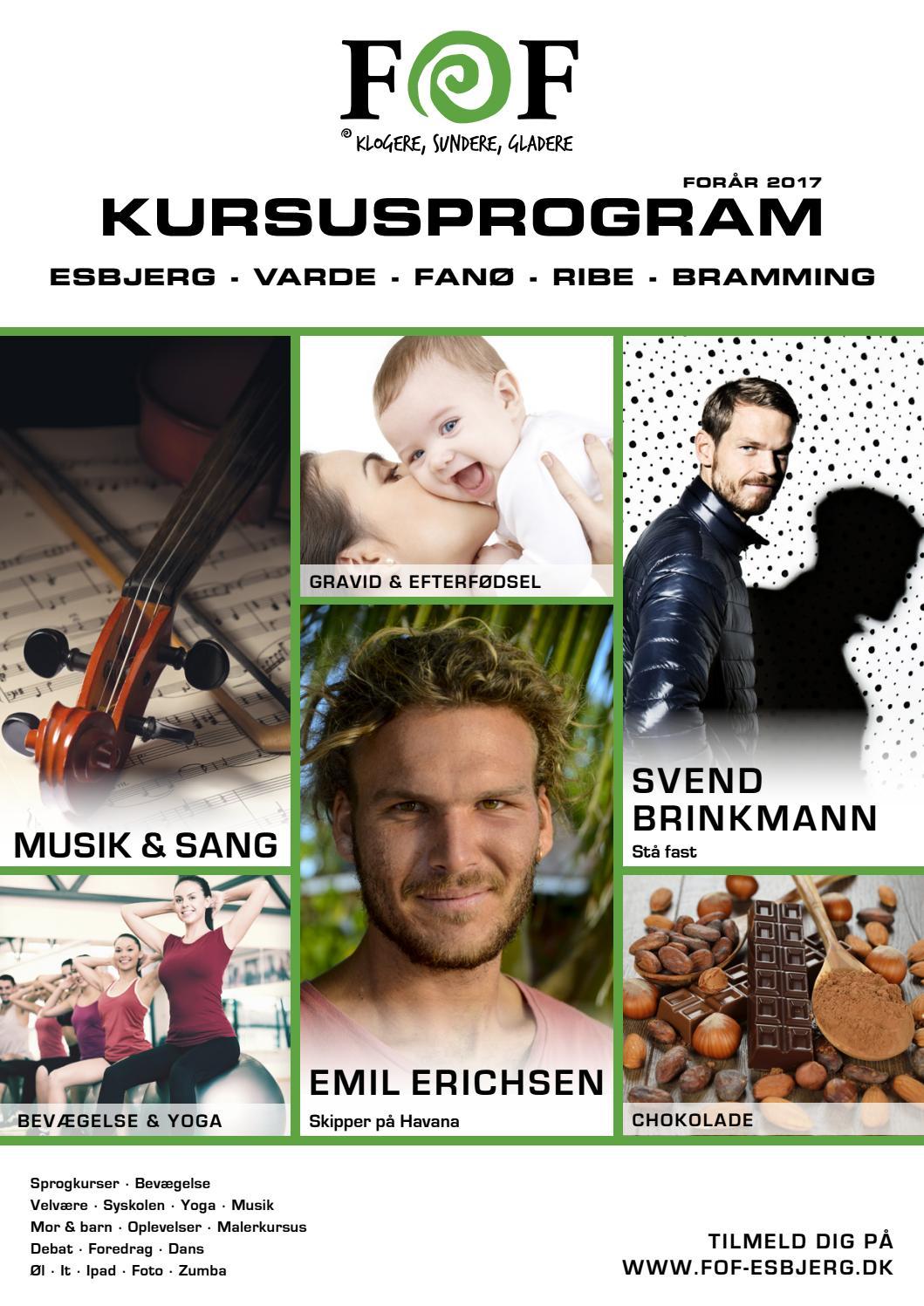 FOF Esbjerg Kursuskatalog forår 2017 by Karina Serritzlev Bekker - Issuu