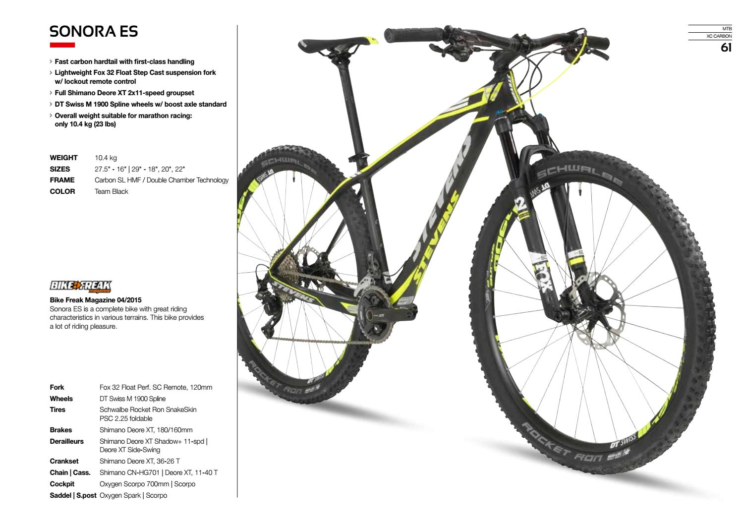 Catalogo Stevens 2017 by BikeMTB net - issuu