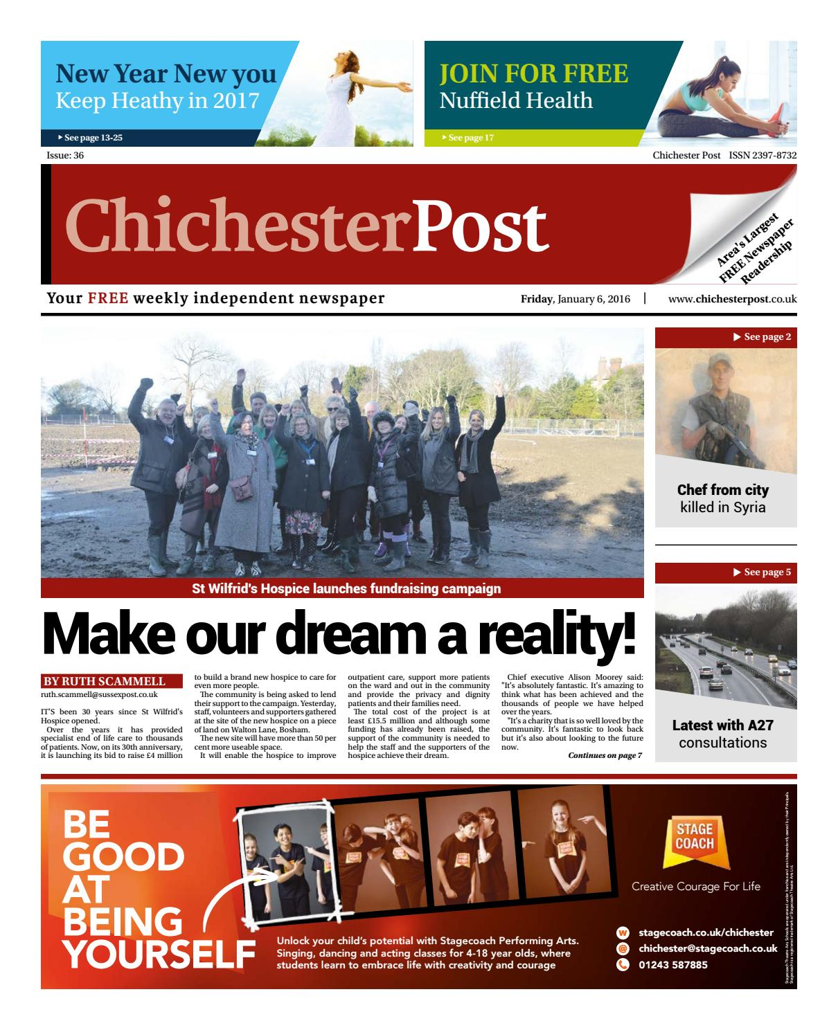 Chichester Post Issue 36 By Post Newspapers Issuu
