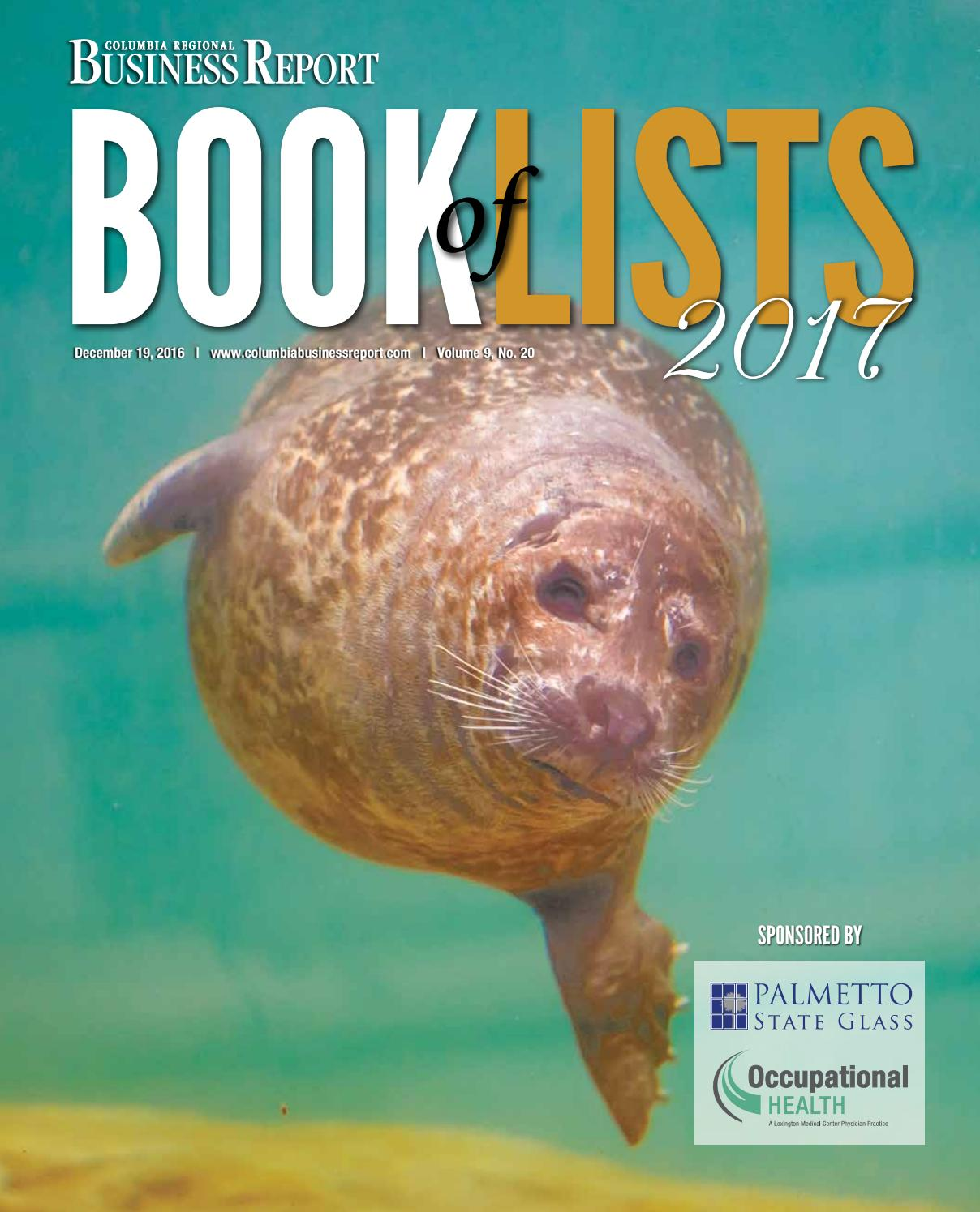 2017 columbia book of lists by sc biz news issuu fandeluxe Gallery