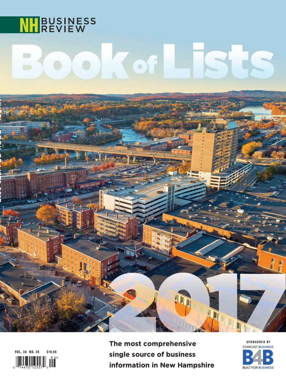 2017 NHBR Book of Lists by McLean Communications - issuu