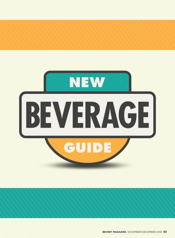 2016 new beverage guide by bevnet issuu page 1 malvernweather Choice Image