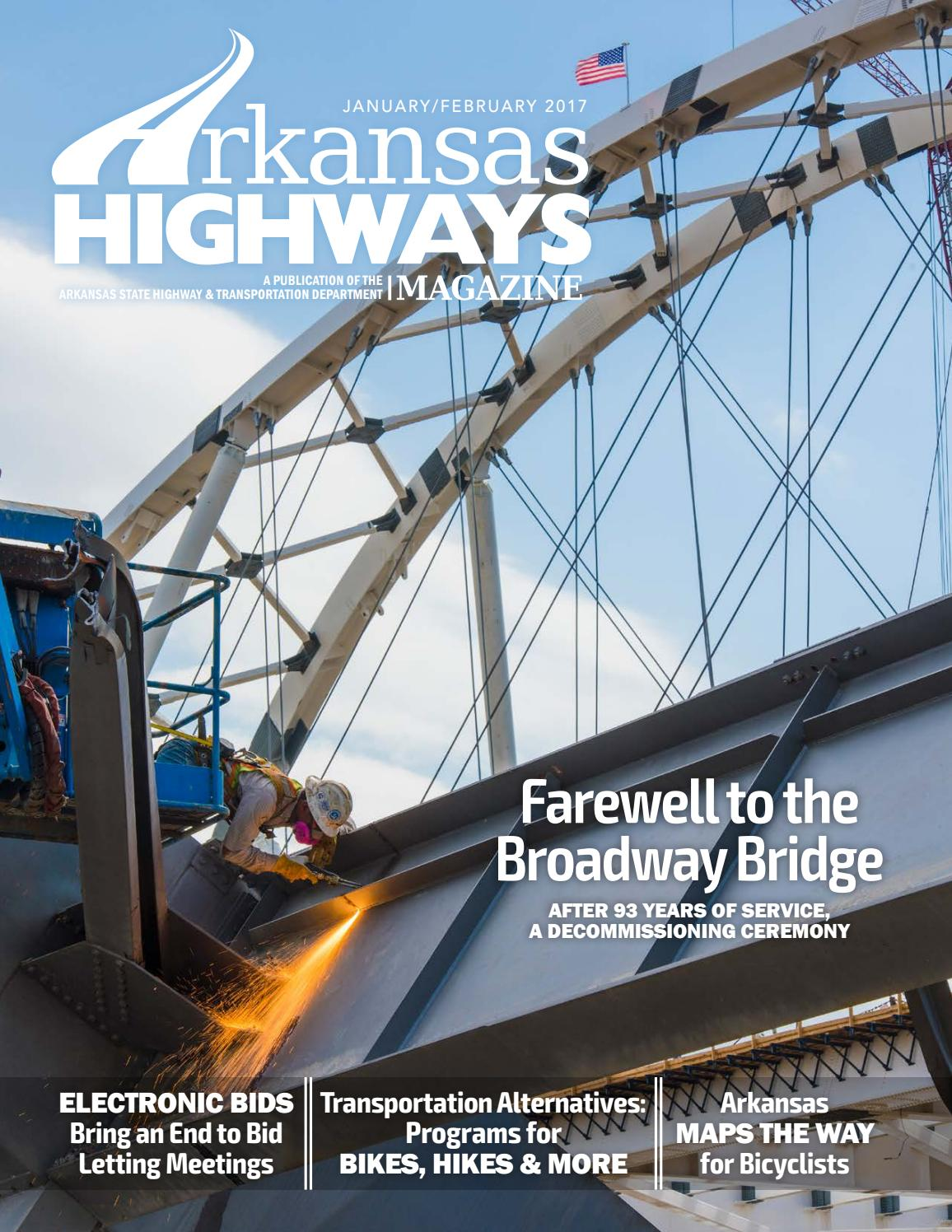 Arkansas Highways Magazine Jan Feb 2017 By Arkansas Department