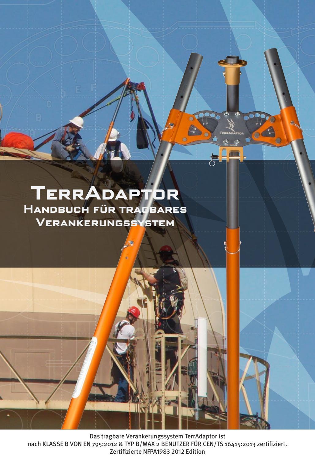 Terradaptor Manual - German by SMC Gear - issuu