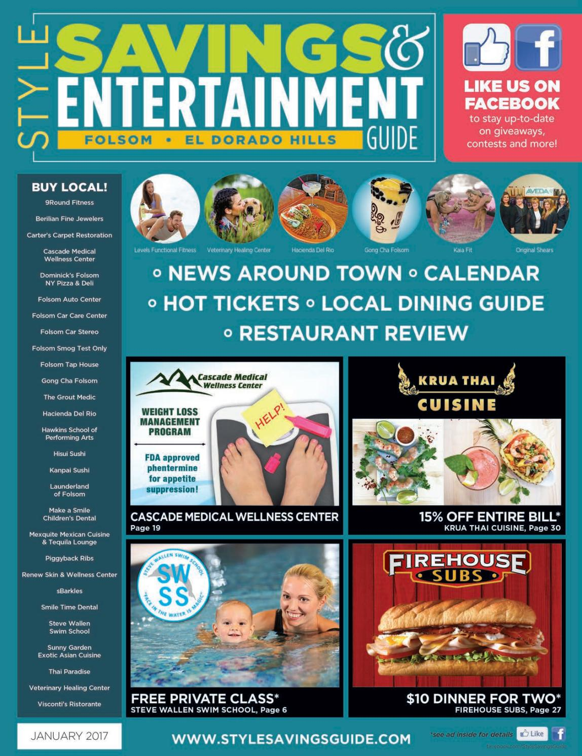 Style Savings & Entertainment Guide - Folsom/El Dorado Hills - JAN ...