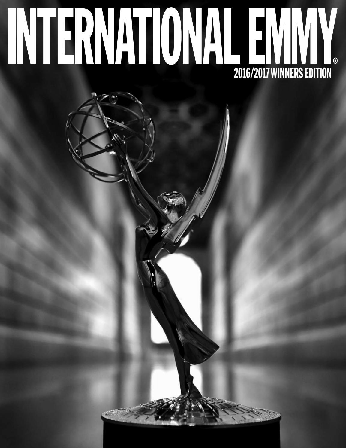International Emmy Winners Edition 2016-2017