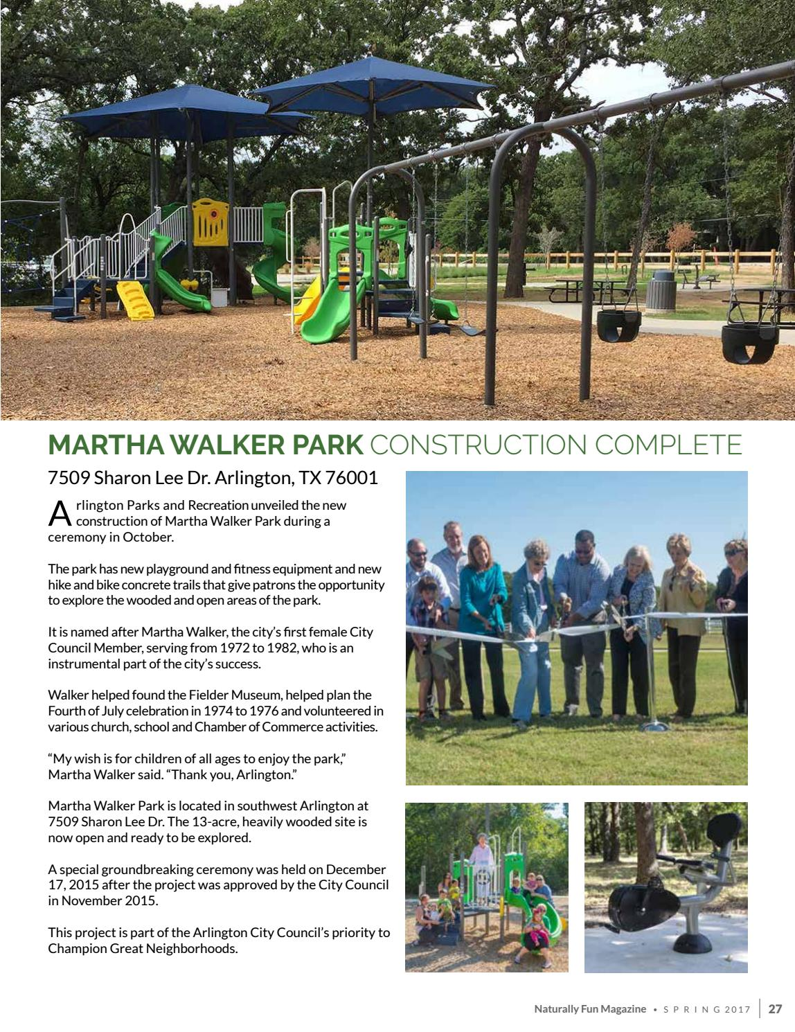 Spring 2017 - Naturally Fun Magazine by Arlington Parks and