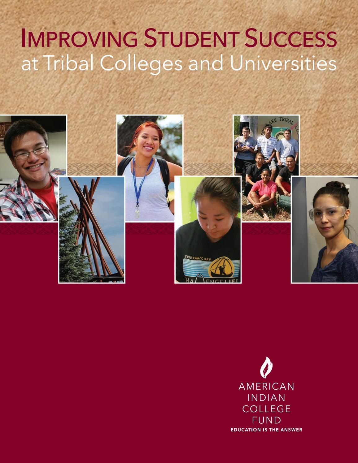 Achieving the Dream – Improving Student Success at Tribal ...