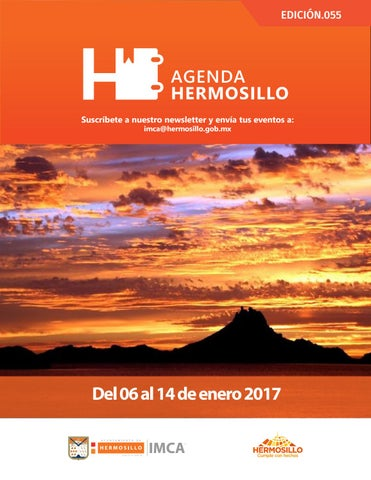 "Cover of ""Agenda Hermosillo 06 ene 2017"""