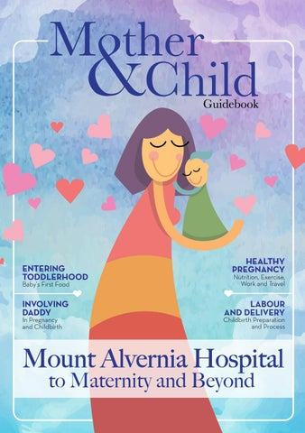 Mount Alvernia Hospital Mother&Child Guidebook by Joyce See