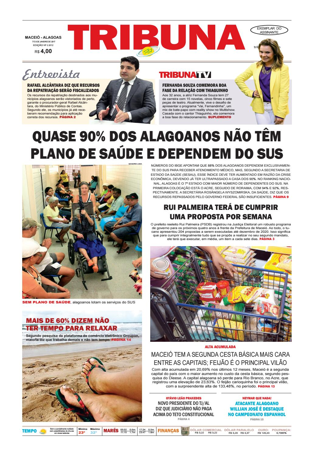 3a3fe3a798 Edição Número 2813 - 7 e 8 de janeiro de 2017 by Tribuna Hoje - issuu