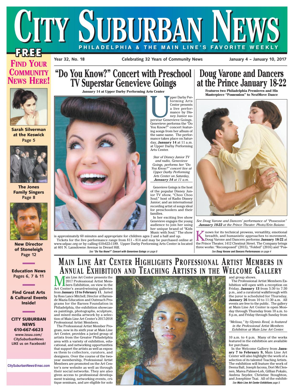 City Suburban News 1_4_17 issue by City Suburban News - issuu