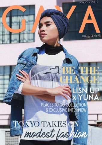 01002205d9 Gaya Magazine January 2017 - Hijab & Modest Fashion for today's ...