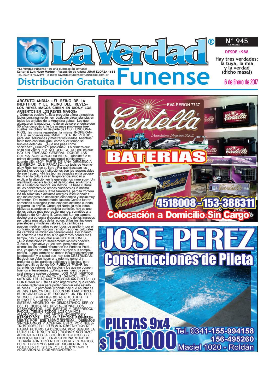 945 06 01 by La Verdad Funense - issuu 2e7ec6d940e3