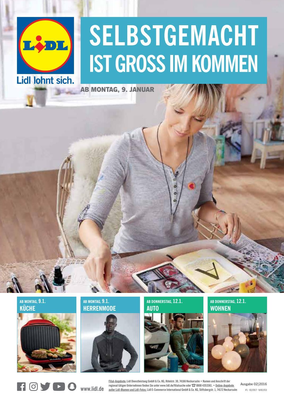 Prospekt Von Lidl Vom 08012017 By Kps Verlagsgesellschaft Mbh Issuu