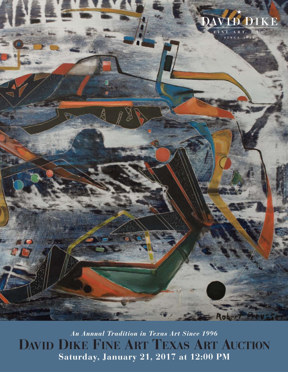 David Dike Fine Art 2017 Texas Art Auction by WinshipPhillips - issuu