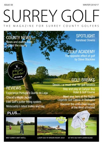 ea6d3d7adebd7 Surrey Golf Winter 2016/2017 by Surrey Golf Magazine - issuu