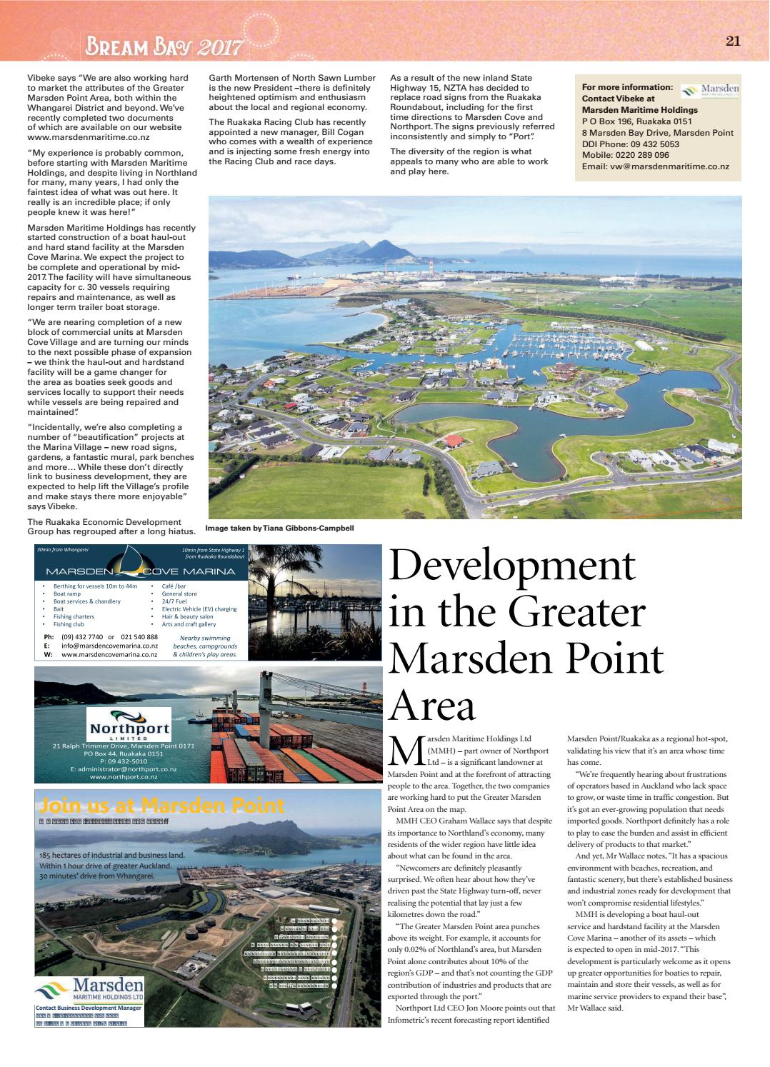 Living the life in Bream Bay 2017 by Northern Advocate - issuu