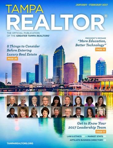 9045f375dbeb5b Tampa REALTOR® Magazine  Jan Feb 2017 by Greater Tampa REALTORS® - issuu
