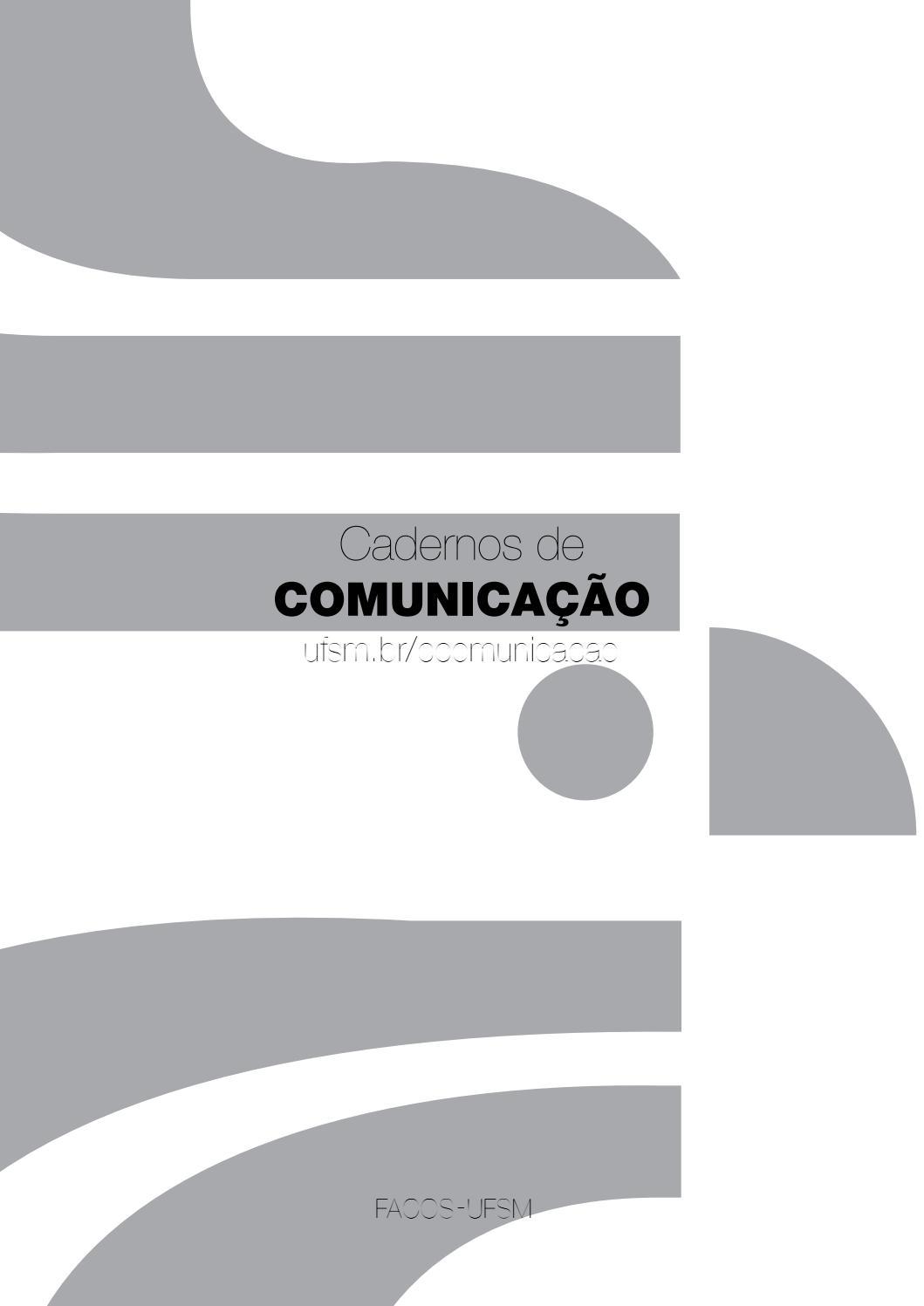 c8c6ea13ca01e Cadernos de Comunicação v.18 n.2 2014 by Flavio Teixeira Quarazemin - issuu