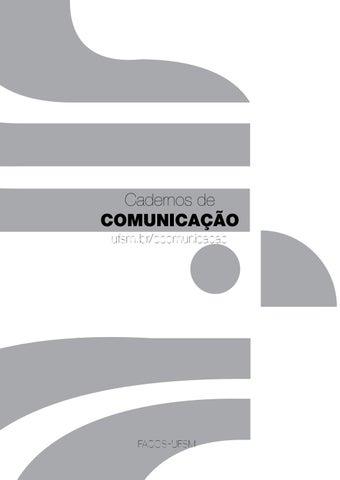 Cadernos de Comunicação v.18 n.2 2014 by Flavio Teixeira Quarazemin ... 772c62d82e1