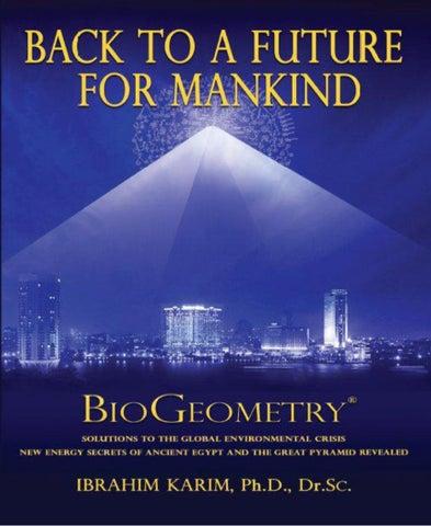 Ibrahim karim biogeometry back to a future for mankind by