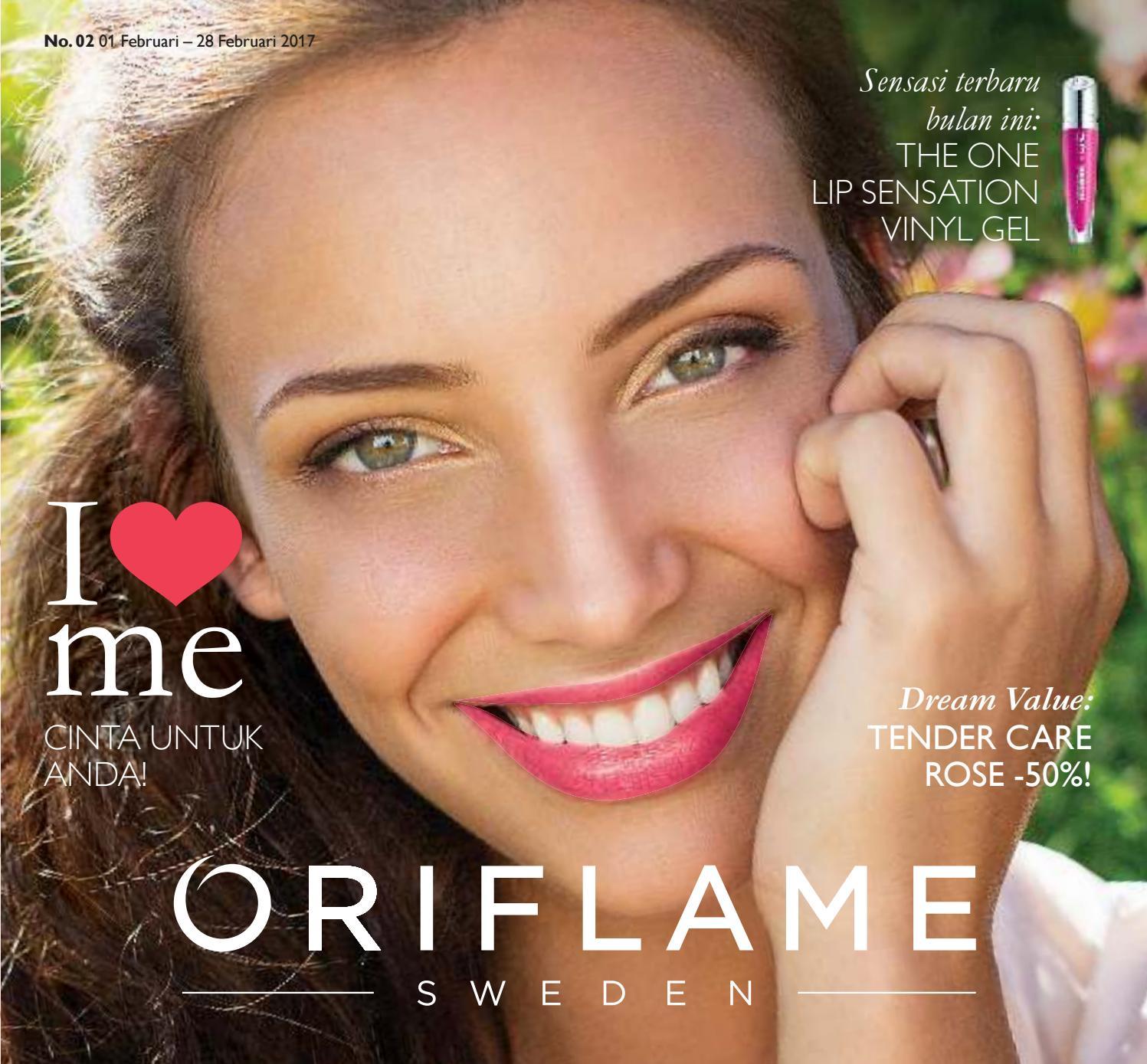 Katalog Oriflame Februari 2017 lipstik the one lip sensation vinyl gel by widi diah issuu