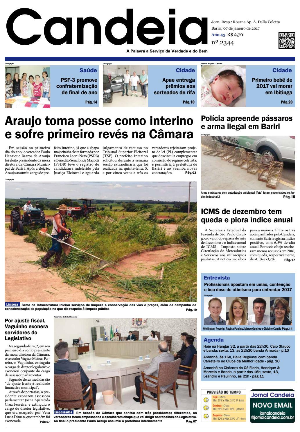 3e3a7932ae Jornal candeia 07 01 2017 by Jornal Candeia - issuu