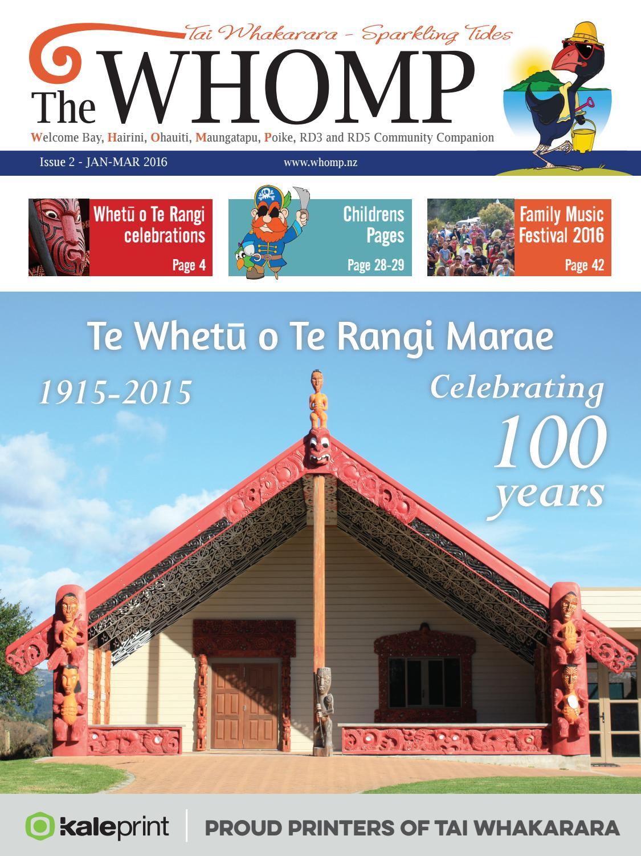 The WHOMP, Issue 2 - JAN-MAR 2016 by Bay Waka community magazine - issuu