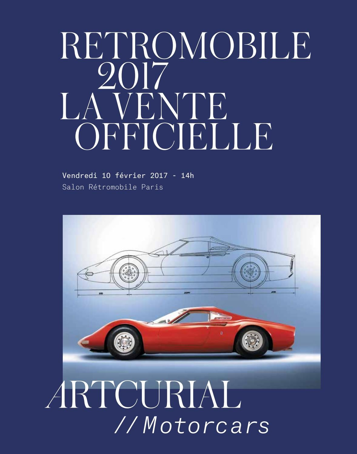 Rétromobile 2017 by Artcurial Motorcars by Artcurial - issuu 7764ac7e24f7