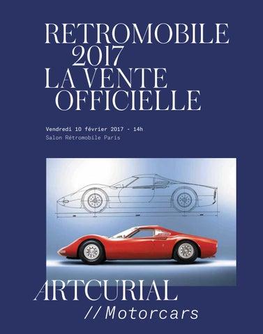 810e4a441b2eab RETROMOBILE 2017 LA VENTE OFFICIELLE Vendredi 10 février 2017 - 14h Salon  Rétromobile Paris