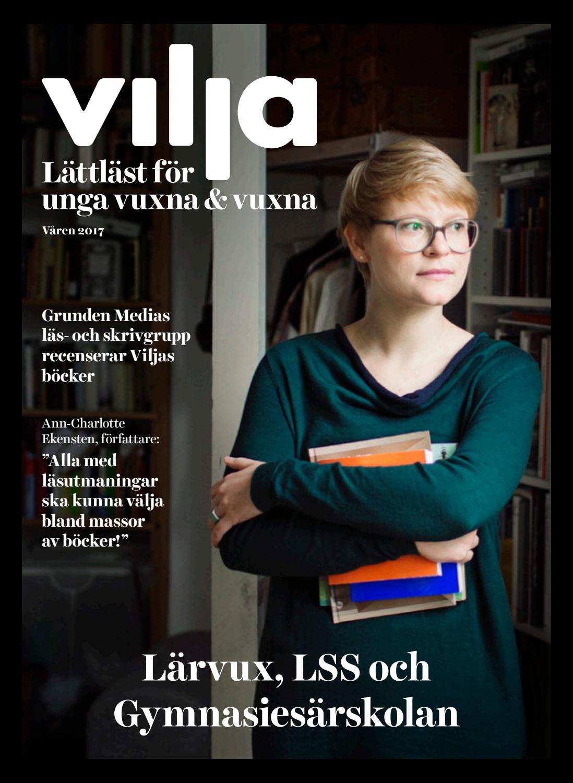 Vilja förlag magasin våren 2017  caac36da4cb93